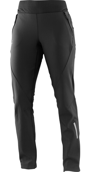 Salomon W's Momemtum Softshell Pant Black